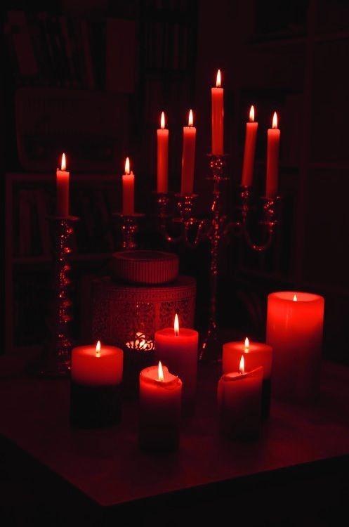 color en las velas