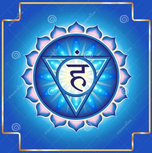 El chakra azul