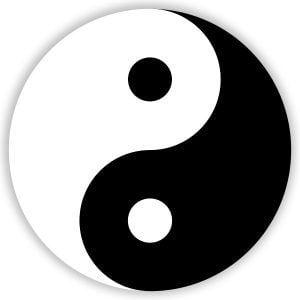 El símbolo del Yin y el Yan
