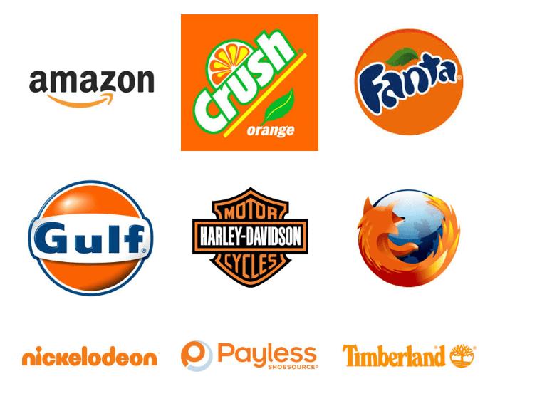 oranje logo's